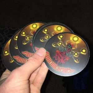 Mr. WildFire Bass God Stickers